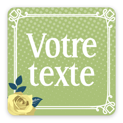 Vintage carrée 4 (0,25€)
